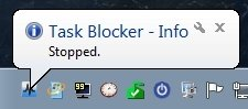 Task Blocker detenido