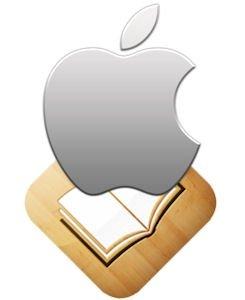 Icono de Apple y de iBook
