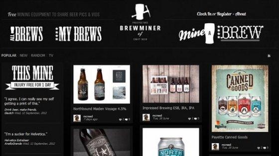 Brewminer, red social de cervezas