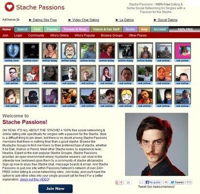 Stache Passions, red social de barbas y bigotes