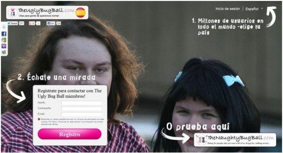 The Ugly Bug Ball, red social para personas feas