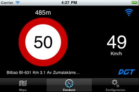 i-Radar también puede detectar radares de tráfico