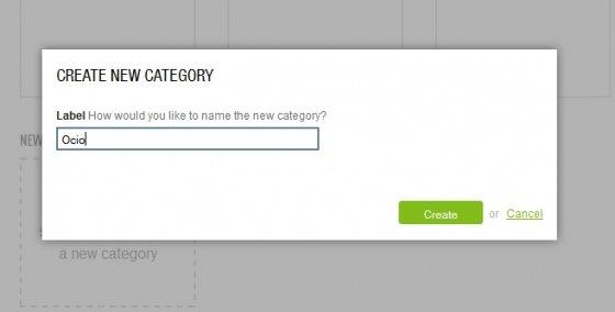 Crear nuevas categorías en feedly