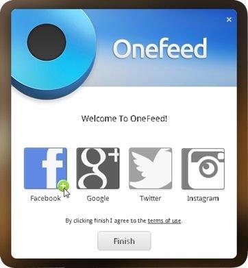 Agregar cuentas personales a OneFeed