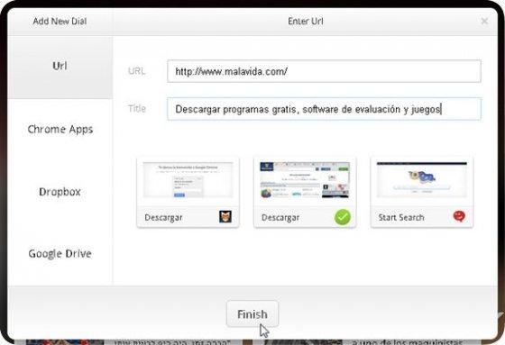 Agrega contenido personalizado a OneFeed