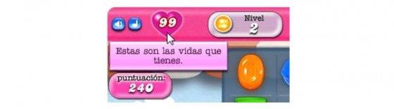 99 vidas inagotables en Candy Crush Saga con Leethax