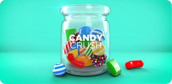 Imagen promocional de Candy Crush Saga