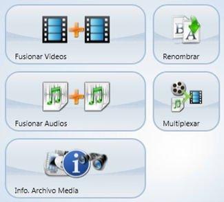Selección de la opción multiplexar