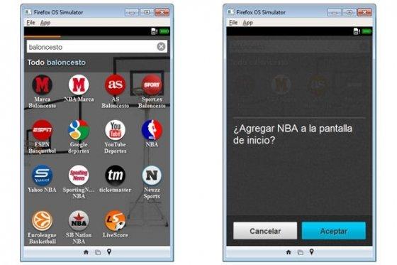 Buscador integrado de Firefox OS