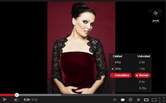 Velocidad de reproducción en YouTube HTML5