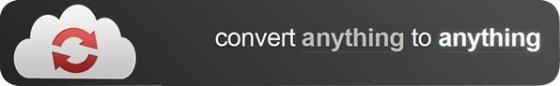 Imagen promocional en la portada de CloudConvert