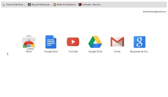 Acceso a aplicaciones de Google Chrome