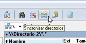 Botón para sincronizar directorios en Total Commander