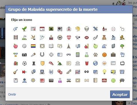 Iconos de grupo para Facebook