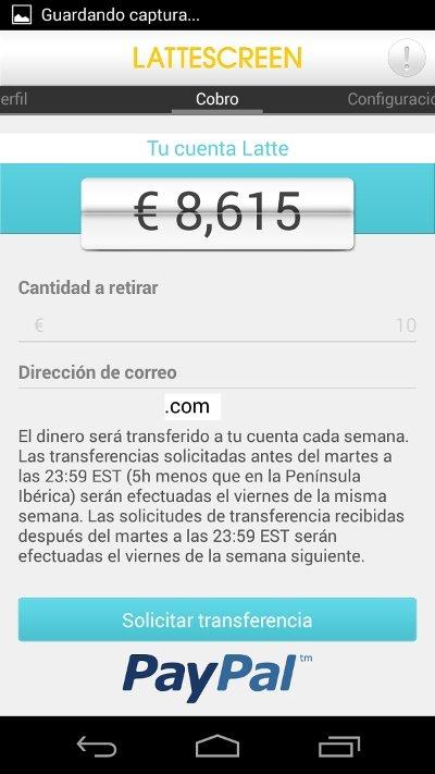 Ganar dinero por desbloquear el móvil