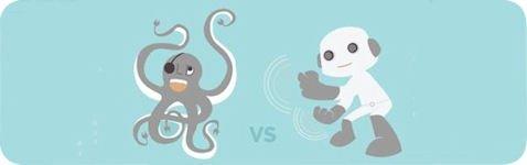 Imagen promocional que compara la domótuica antes y después de Dymotics