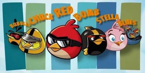 Personajes protagonistas de Angry Birds Go!