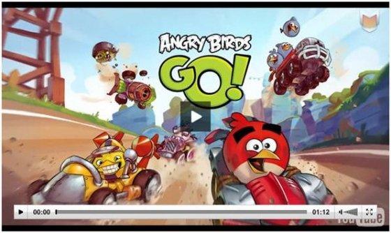 Vídeo de Angry Birds Go!