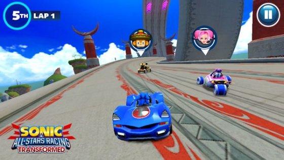 Imagen promocional de Sonic & All-Stars Racing Transformed