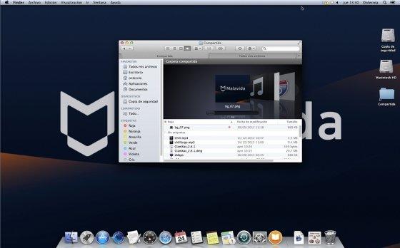 Nueva navegación en Finder por pestañas y etiquetas en OS X Mavericks