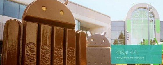 Imagen promocional de Android 4.4 Kitkat