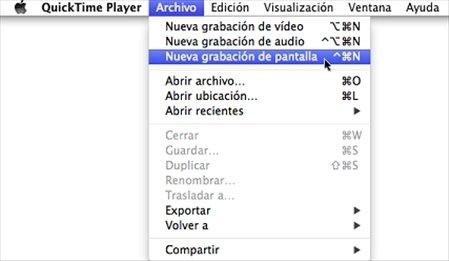 Capturar pantalla Mac 1