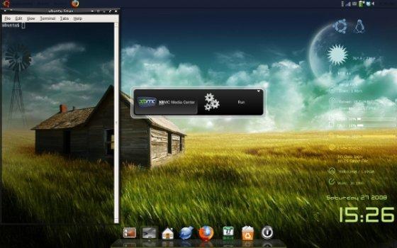 Captura del escritorio de Ubuntu