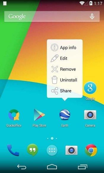KitKat es un lanzador de aplicaciones optimizado para Android 4.4
