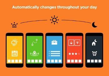 Adapta Android a tu horario con Aviate