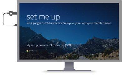 Primeros pasos configurando Chromecast