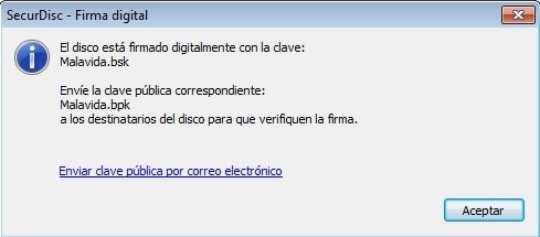 SecurDisc Firma digital