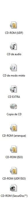 Tipos de discos