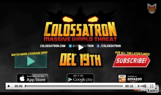 Se anuncia Colossatron para el 19 de diciembre