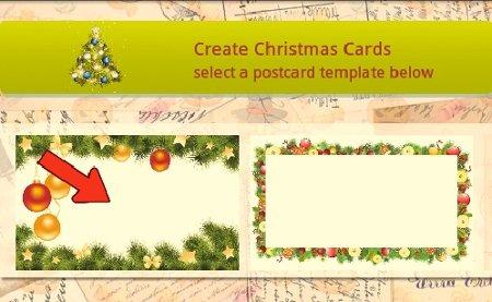 Elegir plantilla para tu tarjeta de felicitación navideña