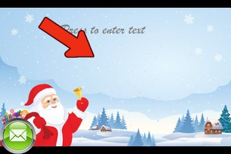 Escribe texto en tu tarjeta de felicitación