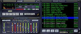 La cuarta o quinta versión de Winamp o Winamp 5.x