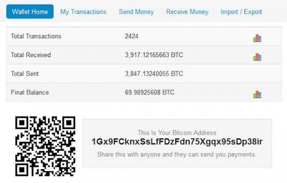 Blockchain es un monedero Bitcoin web