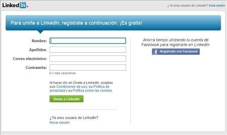 Registro LinkedIn