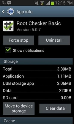 Move to device storage AppMgr III