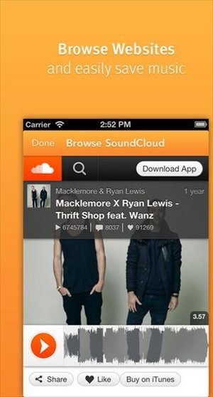 Descargar canciones SoundCloud iPhone