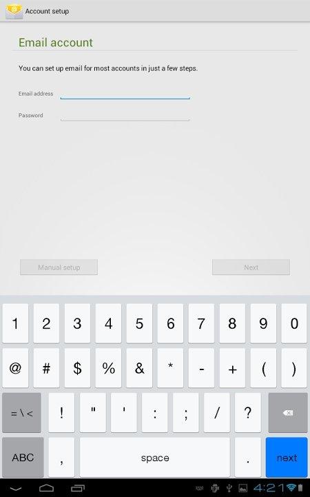 El teclado de iPhone para Android