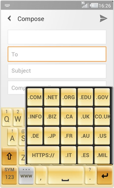 TypeSmart para Android predice frases completas