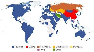 Impacto de Facebook en el mundo