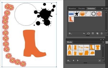Illustrator símbolos