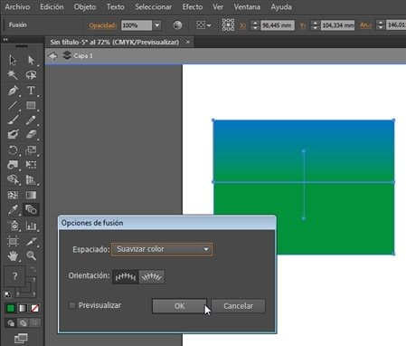 Illustrator mezclas