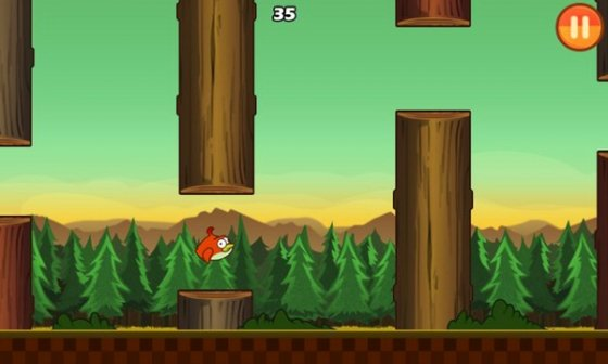 Capturas de Clumsy Bird
