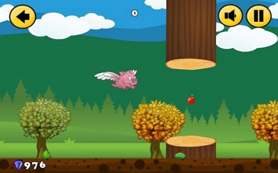 Capturas de Flappy Pig
