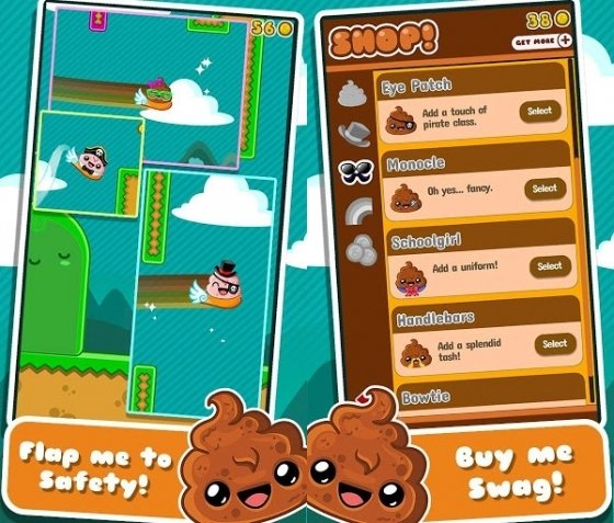 Capturas de Happy Poo Flap