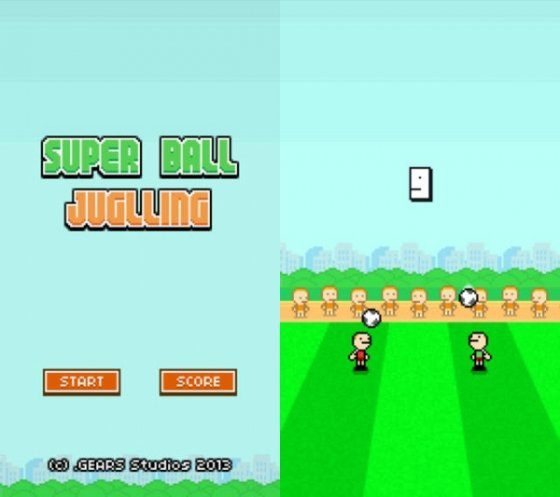 Capturas de Super Ball Juggling