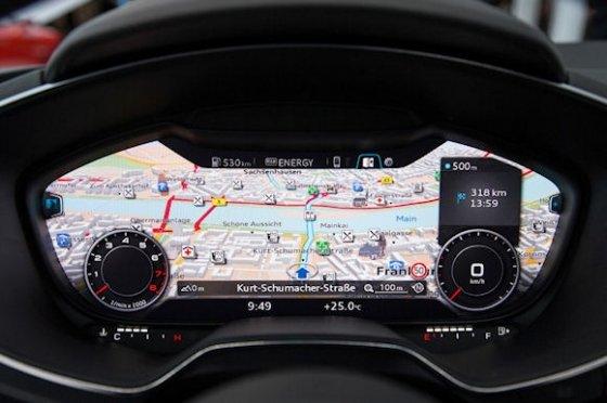 Cuadro de mandos de coche Audio con pantalla táctil y Android